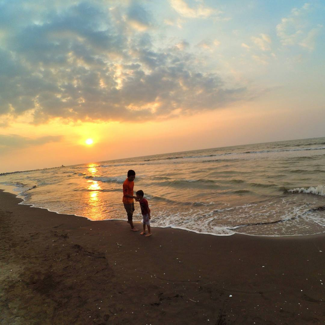 Sunset pantai widuri