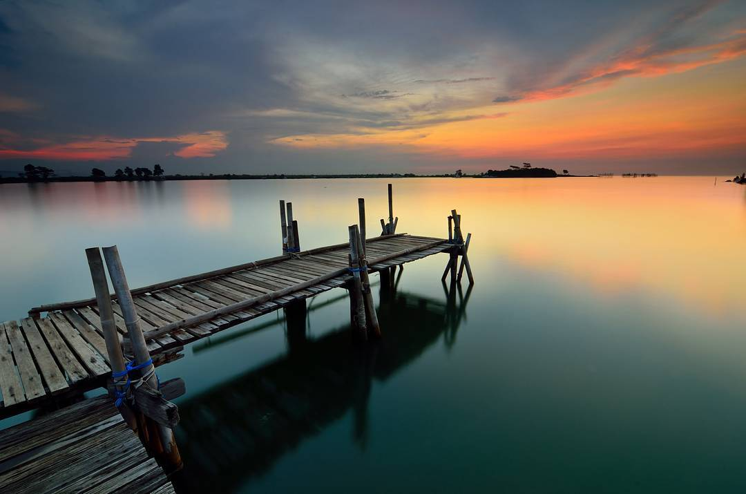 Pantai Marina Semarang Jawa Tengah, Keindahan Alam Pesisir  garispantai.com