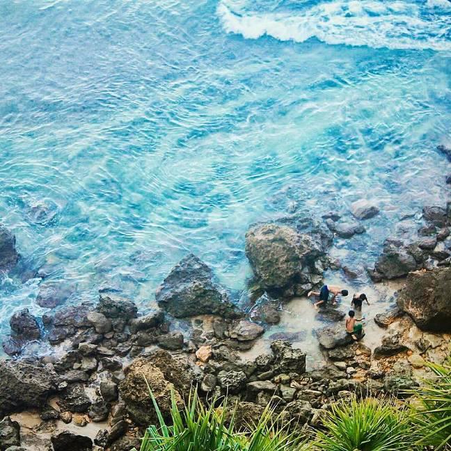 Pantai nampu wonogiri drone