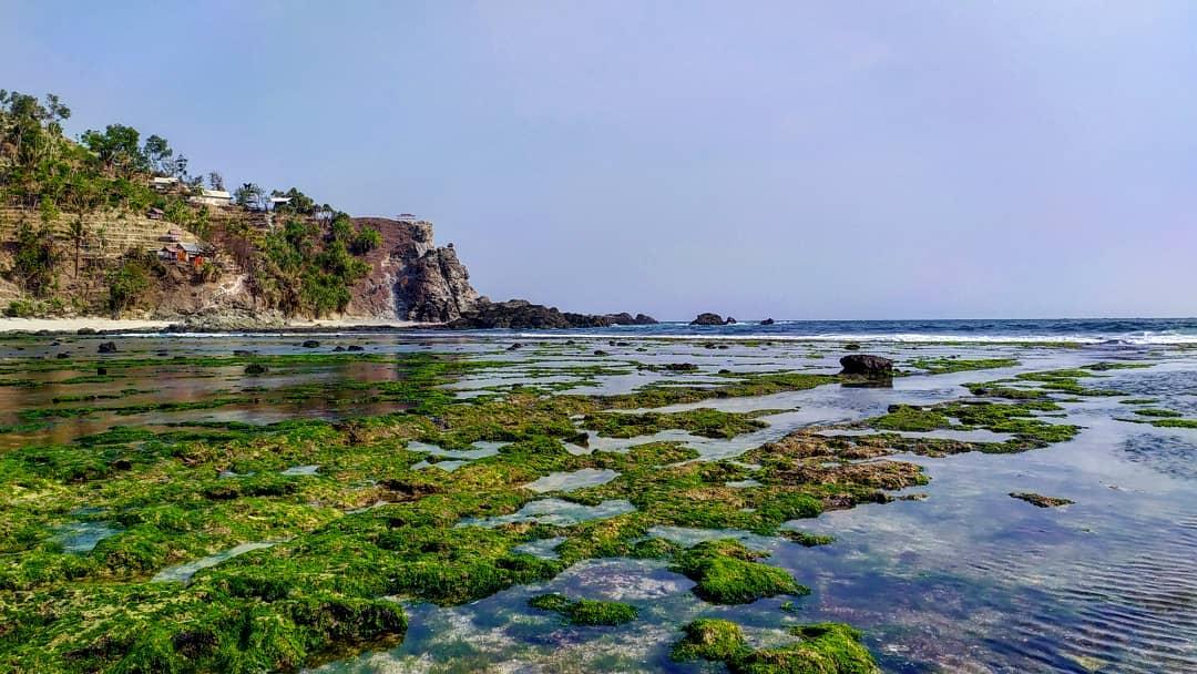 foto pantai siung gunung kidul