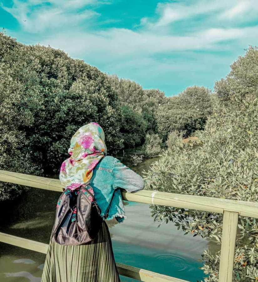 Hutan mangrove pantai karang song
