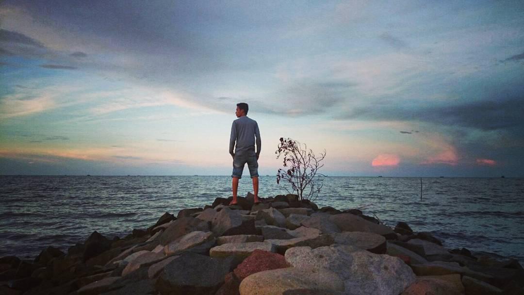 Foto pantai muarareja