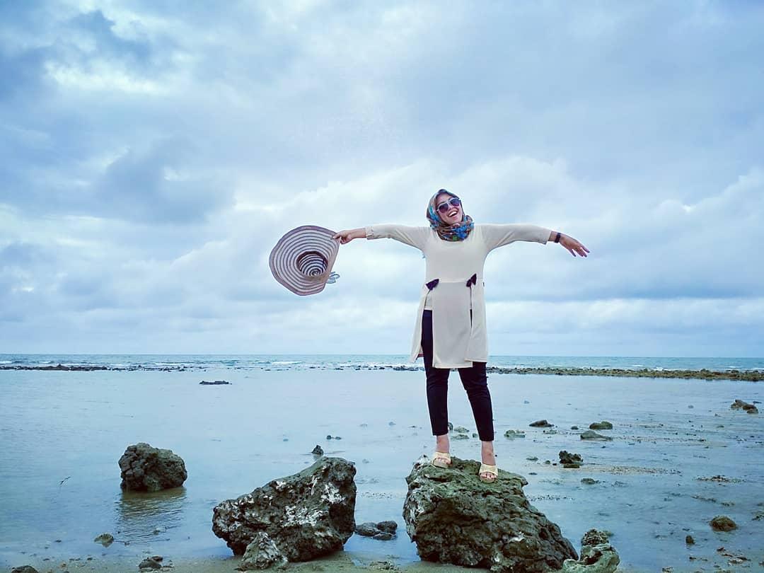 Spot batu karang pantai empu rancak