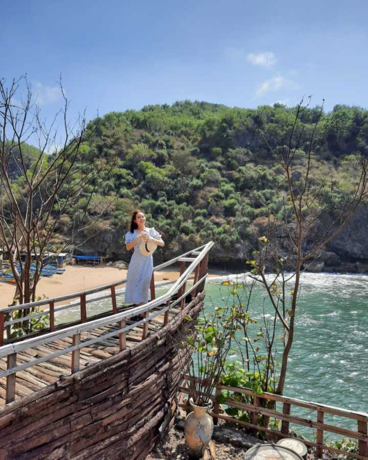 Tempat foto pantai gesing