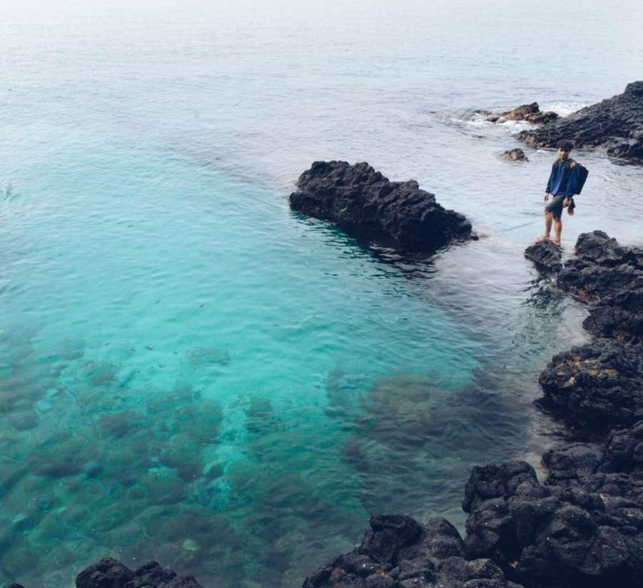 Laguna pantai bias tugel