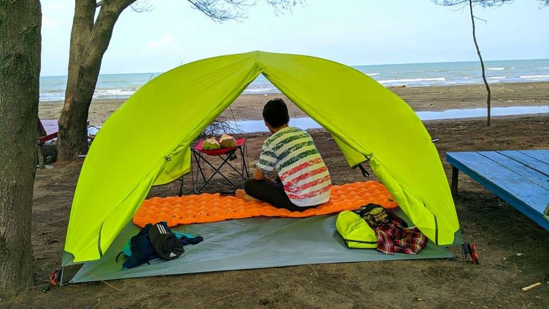 Camping pantai jodo batang